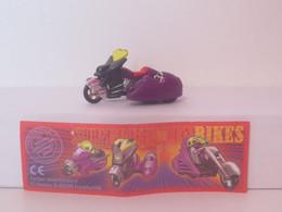 "KINDER SURPRISE 1999 Deutch :         "" Moto "" N° 657344 + BPZ - Mountables"