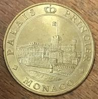 98 MONACO PALAIS PRINCIER MDP 2004 MÉDAILLE SOUVENIR MONNAIE DE PARIS JETON TOURISTIQUE MEDALS COINS TOKENS - 2004