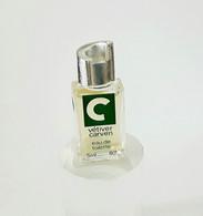 Miniatures De Parfum VÉTIVER  De CARVEN  EDT Pour Monsieur  5  Ml  + BOITE - Miniatures Men's Fragrances (without Box)