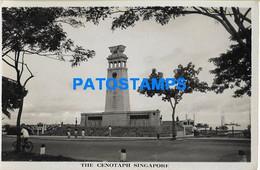 157516 SINGAPORE THE CENOTAPH POSTAL POSTCARD - Singapore