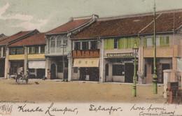 Kuala Lumpur Selangor Malaysia 1906 Postcard - Malaysia