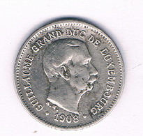 5 CENTIMES 1908 LUXEMBURG /3037/ - Luxembourg