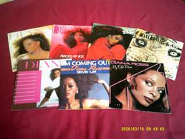 Collection De  7 Vinyles Differents De DIANA ROSS - Complete Collections