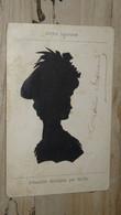 SILHOUETTE : Ombre Japonaise, Silhouette Découpée Par KO-KO ............. 201101d-3879 - Silueta