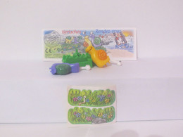 KINDER SURPRISE 1999 Deutch :       N° 649449 + BPZ + Stickers - Mountables