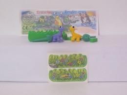 KINDER SURPRISE 1999 Deutch :       N° 649414 + BPZ + Stickers - Mountables