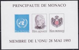 Monaco    .   Yvert  Bloc B 62a    (2 Scans)     .    **      .  Neuf SANS Charnière  .   /   .    MNH - Bloques