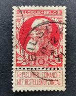Leopold II Grove Baard 74 - 10c Gestempeld EC BILSEN - 1905 Barba Grossa