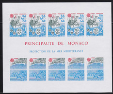 Monaco    .   Yvert  Bloc B  34a   (2 Scans)     .    **      .  Neuf SANS Charnière  .   /   .    MNH - Bloques