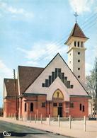 91 Brunoy Eglise St Saint Pierre CPSM GF - Brunoy