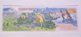 KINDER SURPRISE 1999 Deutch :       BPZ N° 649414 - Instructions