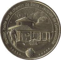 2021 MDP123 - AUVILLAR - Halte Sur Le Chemin De Saint-Jacques De Compostelle / MONNAIE DE PARIS 2021 - Other