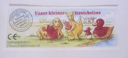 KINDER SURPRISE 1999 Deutch :       BPZ N° 620610 - Instructions