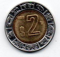 Mexique -  2 Pesos 1998 TTB+ - Mexico