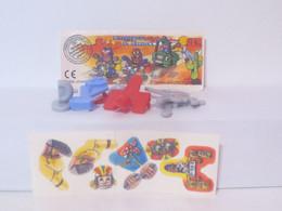 KINDER SURPRISE 1999 Deutch :       N° 617946 + BPZ + Stickers - Mountables