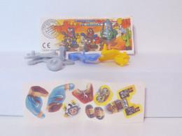 KINDER SURPRISE 1999 Deutch :       N° 617997 + BPZ + Stickers - Mountables