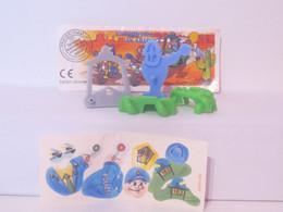 KINDER SURPRISE 1999 Deutch :       N° 617695 + BPZ + Stickers - Mountables