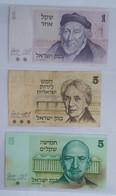 LOT 14 BILLETS ISRAËL DE B+ A NEUFS - Israel