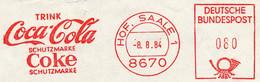 Freistempel Kleiner Ausschnitt 337 Coca Cola - Affrancature Meccaniche Rosse (EMA)