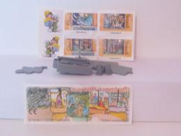 KINDER SURPRISE 1999 Deutch :       N° 613681 + BPZ + Stickers - Mountables