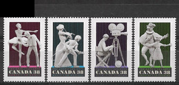 Canada 1989. Scott #1252-5 (MNH) Performing Arts ** Complete Issue - Unused Stamps