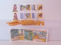 KINDER SURPRISE 1999 Deutch :       N° 613754 + BPZ + Stickers - Mountables