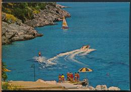 °°° 26701 - GREECE - CORFU - HELIOS , CLUB MEDITERRANEE - 1980 With Stamps °°° - Greece