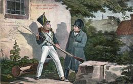 SOUVENIR DE WATERLOO. On Ne Passe Pas ! - Waterloo