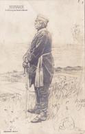 1473/ Bismarck, Zeichnung Von Anton V. Werner, Wohlfahrts-Karte 1915 - Red Cross