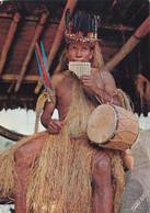 Perù - Amazonia Peruana - Indio Yagua Con Istrumentos Musicales Viaggiata - Peru