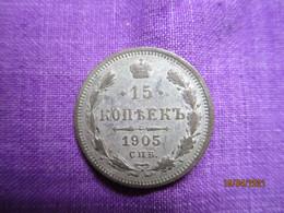 Russie: 15 Kopek 1905 - Russia
