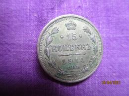 Russie: 15 Kopek 1914 - Russia