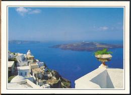 °°° 26702 - GREECE - SANTORINI - 1988 With Stamps °°° - Greece