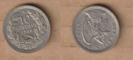 CHILE  10 Centavos 1938 Copper-nickel • 3 G • ⌀ 19.5 Mm KM# 166 - Chile