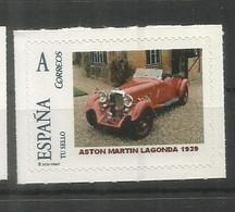 ESPAÑA TUSELLO AUTOMOVIL COCHE CAR ASTON MARTIN LAGONDA - Autos