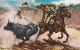 Messico -Tijuana - Coleando El Toro Viaggiata 1960 - Mexico