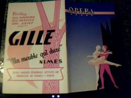 Vieux Papier Programme Opéra Municipal De Béziers Saisons 1962/2963 - Programs