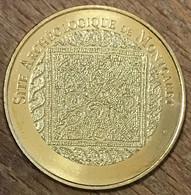 24 SITE ACCHÉOLOGIQUE DE MONTCARET MDP 2019 MÉDAILLE MONNAIE DE PARIS JETON TOURISTIQUE MEDALS COINS TOKENS - 2019
