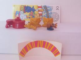 KINDER SURPRISE 1999 Deutch :       N° 640166 (2a) + BPZ + Stickers - Mountables