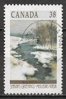Canada 1989. Scott #1256 (U) Christmas, Winter Landscape, Champ-de-Mars, By William Brymmer - Used Stamps