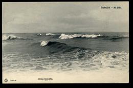 VENEZIA Mareggiata Al Lido Brunner - Venezia