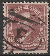 Etats-Unis 1890 N° 163 James A. Garfield, 1831-1881  (H7) - Usati
