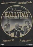 Johnny Hallyday Ses Premiers Pas Au Cinéma. Coffret De 4 DVD. Collector - Collections & Sets