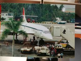 PHILIPPINES. AIRPORT MANILLE With CONCORDE - Aerodromi