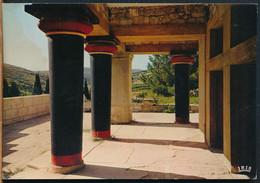 °°° 26706 - GREECE - KNOSSOS - COUR DES APPARTEMENTS ORIENTAUX DU PALAIS  - 1969 With Stamps °°° - Greece