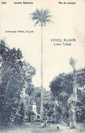Brazil - RIO DE JANEIRO - Jardim Botanico - Ed. Virol Klain 322 - Rio De Janeiro