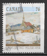 Canada 1989. Scott #1258 (U) Christmas, Winter Landscape, Ste Agnes By Albert Robinson - Used Stamps