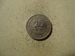 MONNAIE SRI LANKA  25 CENTS 1971 - Sri Lanka