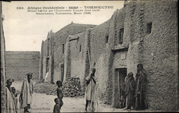 CPA Timbuktu Tombouctou Mali, Afrikaner, Lehmhütten - South Africa