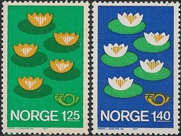 """NORWAY - COMPLETE SET ENVIRONMENTAL PROTECTION """"NORDEN"""" 1977 - MNH - Environment & Climate Protection"""